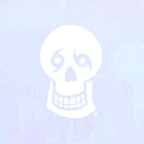 "Skull Big 20"" Window Decal"