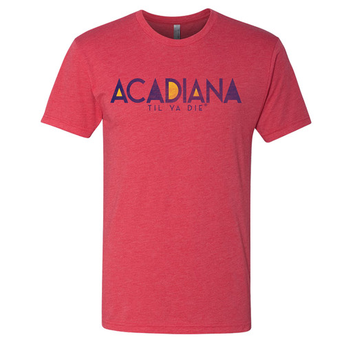 Acadiana TYD Tee (Red)