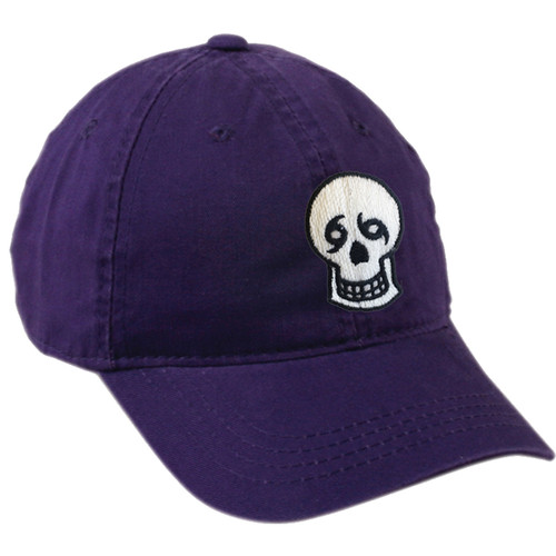 Skull Dad Hat (Purple)