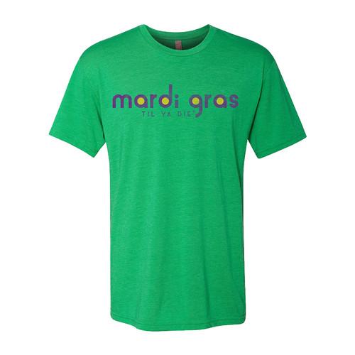 Mardi Gras TYD Adult (Green Heather)