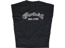 Martin Black Logo T-shirt