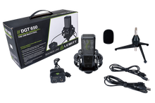 Lewitt DGT 650 Stereo USB Mic + Interface Podcasting Pack