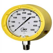 3D Instruments Series 34 Helical Pressure Gauge with 10 year warranty