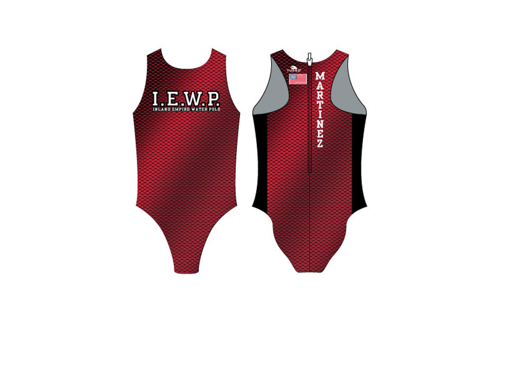 Inland Empire Water Polo TURBO Flash Water Polo Suit