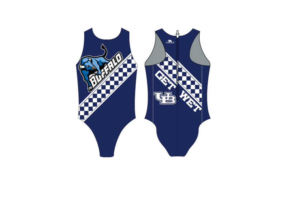 University of Buffalo Womens Water Polo Suit