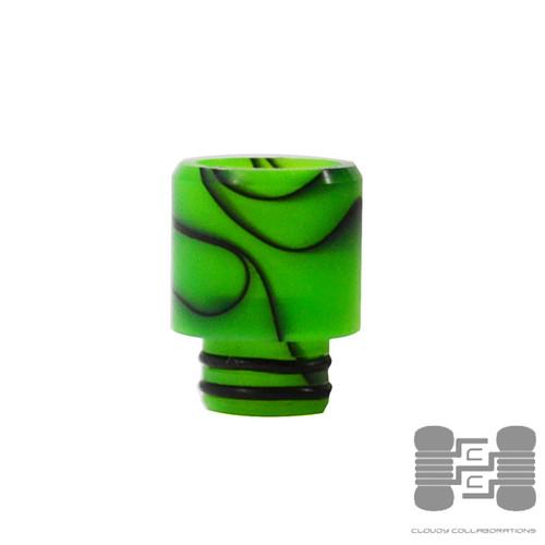 CFJ Acrylic Drip Tip by Half Moon Mods
