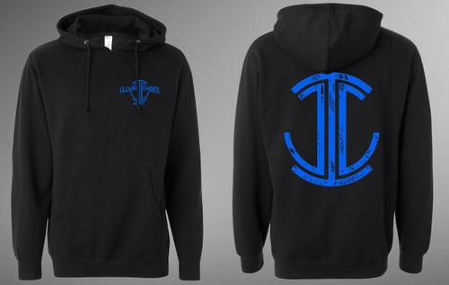 CCI Pullover Hoodie (Blue Logo)
