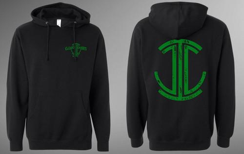 CCI Pullover Hoodie (Green Logo)