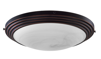 AuroraGlo Glass Fixture (Bronze)