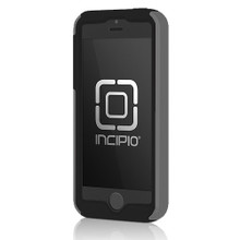 APPLE IPHONE 5 / 5S INCIPIO DUALPRO HARD SHELL CASE WITH SILICONE CORE - CHARCOAL GRAY AND OBSIDIAN BLACK