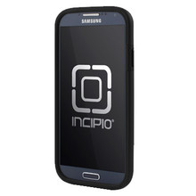 SAMSUNG GALAXY S4 INCIPIO DUALPRO HARD SHELL CASE WITH SILICONE CORE - OBSIDIAN BLACK AND OBSIDIAN BLACK