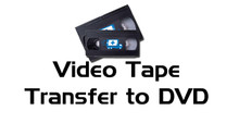 S-VHS Tape Transfer to DVD