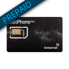 Inmarsat 2,500 Unit Prepaid SIM Card