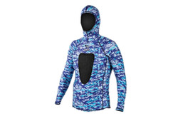 IST Blue Camo Rash Guard