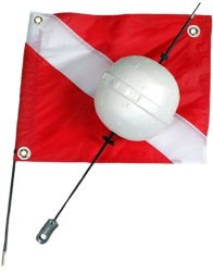 Two Peice Ball Float With Dive Flag