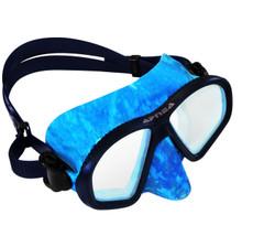 Apnea Camo Mask - Blue
