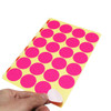 LJY 32mm Round Dot Stickers Color Coding Labels, 12 Different Assorted Colors Sticky Dot Labels, 24 Sheets