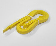 "Yellow 0.5cm Trim Strip (approx. 3/16"")"