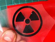 Radiation Symbol Overlay