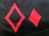 Double Diamond Symbol Overlay