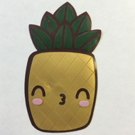 Squinty Kissy Pineapple Patch