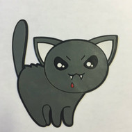 Killer Kitty Kat - Halloween Patch