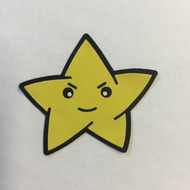Kind-of Menacing Star - Halloween Patch