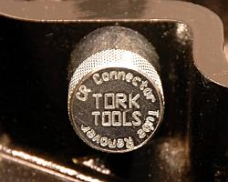 Tork Tool CRCTR010 Cummins Connector Tube Remover can also be used as an injecotr tube installer.