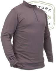 The Fly Shop's Base Layer Zip Top