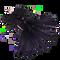 Beadhead Crystal Buggers - Midnight #8