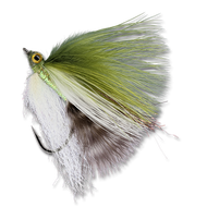 RK's 20-20 Minnow - Olive/White #4