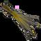 JGF Translucent Wiggle Tail - Olive #10