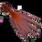 JGF Translucent Wiggle Tail - Rust #10