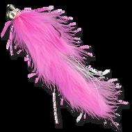 Hareball Leeches - Pink