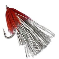 Karluk Flash Fly - Silver/Red #2