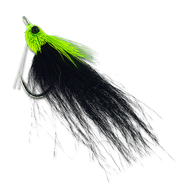 Fishalicious - Chartreuse/Black #1/0