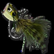 Rubberleg Largemouth Poppers - Frog #4