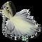 Rubberleg Largemouth Poppers - Pearl #4