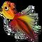 Rubberleg Largemouth Poppers - Tiger #4