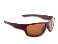"TFS Polarized ""Striper"" Sunglasses - Brown Tortoise/Polar Brown"