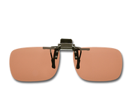 Cocoons Polarized Flip-Ups - Rectangle/Copper