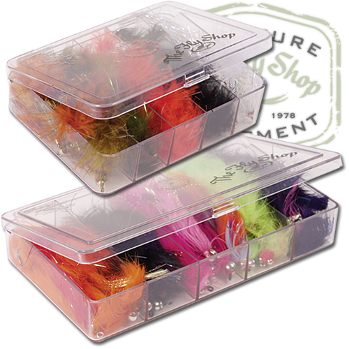 The Fly Shop's Myran Streamer/Nymph Fly Boxes