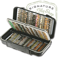The Fly Shop's Waterproof Swingleaf Nymph Fly Box