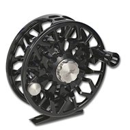 Abel SDS Fly Reel - Black (front)
