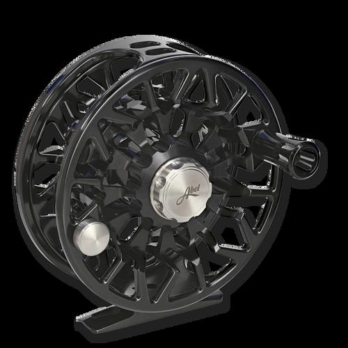 Abel SDS Fly Reel - Black (front)