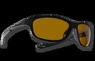 "TFS Polarized ""Cruiser"" Sunglasses - Matte Black/Amber"