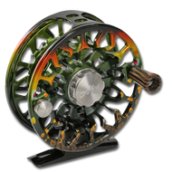 Abel SDF Fly Reel - Native Brookie (front)