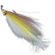 Flashtail Minnow - White/Yellow/Brown