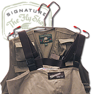 The Fly Shop's No-Slip Wader/Vest Hanger