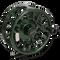 Galvan Torque Fly Reels - Green (Front)
